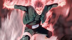 Anime Eight Gates Naruto Might Guy 2048x1344 Wallpaper