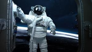 Astronaut Cosmos Sci Fi Science Space Stars 5200x3250 Wallpaper