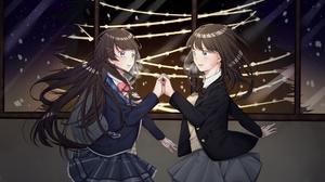 Virtual Youtuber Amagami Ss Tsukasa Ayatsuji Tsukino Mito 2000x1400 wallpaper