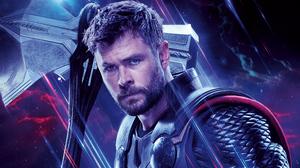 Avengers Endgame Chris Hemsworth Marvel Comics Thor 7496x4216 Wallpaper