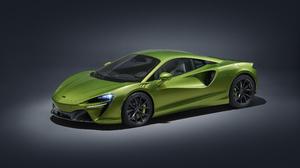 McLaren Artura McLaren Car Sports Car Hybrid Electric Car Green Cars Spotlights 3840x2160 Wallpaper