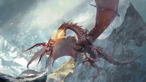 Dragon Mountain Snow Warrior 1920x1358 Wallpaper