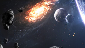 Sci Fi Galaxy 1920x1200 wallpaper