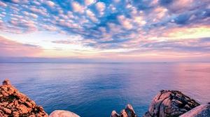 Cloud Horizon Nature Ocean Sky 3840x2400 Wallpaper