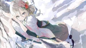 Anime Anime Girls Digital Art Artwork 2D Portrait AiDa Princess Connect Re Dive Kokkoro Princess Con 2000x1180 Wallpaper