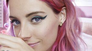 Chloe Norgaard Women Model Young Woman Long Hair Danish Pink Hair Purple Hair 1690x2535 Wallpaper