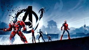 Avengers Avengers Endgame Black Widow Bruce Banner Hulkbuster Iron Man Nebula Marvel Comics Rocket R 3000x1688 Wallpaper