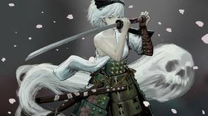 Youmu Konpaku Myon Touhou 3600x2457 wallpaper
