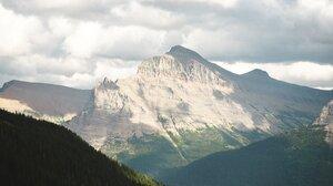 Landscape Nature Vertical Portrait Display Mountains Clouds 1366x2048 Wallpaper
