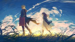 Digital Art Sunrise Yuumei 2700x1350 Wallpaper