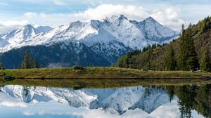 Mountain View Austria Nature Lake 5760x3840 Wallpaper