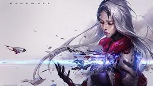 Cyborg Girl Katarina League Of Legends League Of Legends 1920x1133 Wallpaper