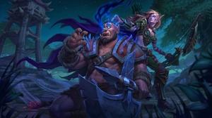 Archer Bow Elf Orc Woman Warrior World Of Warcraft 1920x1138 Wallpaper