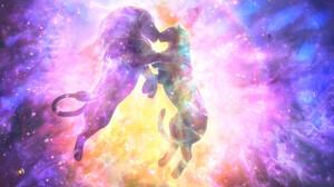 Yuliya Zabelina Digital Art Fantasy Art Lion Space Love 1920x1080 Wallpaper