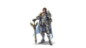 Armor Girl Knight Sword Woman Warrior 5000x2500 Wallpaper