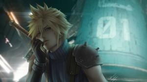 Final Fantasy Cloud Strife 5400x3037 wallpaper