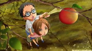 Glasses Kousei Arima Tsubaki Sawabe 3840x2160 wallpaper