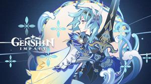 Genshin Impact Eula Genshin Impact Anime Anime Games 2560x1440 Wallpaper