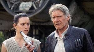 Daisy Ridley Han Solo Harrison Ford Rey Star Wars Star Wars Star Wars Episode Vii The Force Awakens 1920x1080 Wallpaper