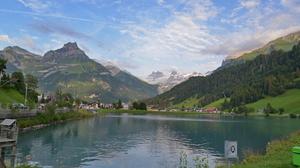 Engleburg Titlis Engelberg Switzerland Mountains Outdoors 2406x1354 Wallpaper