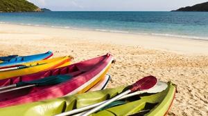 Outdoors Beach Sea Vehicle Boat 2560x1707 Wallpaper