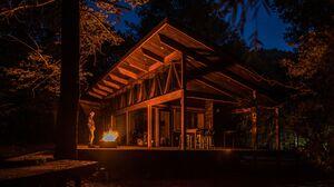 Architecture Modern House Cabin 2000x1331 Wallpaper