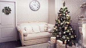 Christmas Tree Gift 2560x1706 Wallpaper
