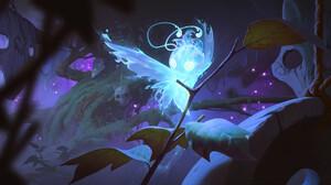 Dao Trong Le Artwork Digital Art Prey Legends Of Runeterra Game Characters Butterfly 2500x1250 Wallpaper