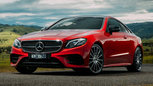 Car Coupe Luxury Car Mercedes Benz E 300 Coupe Amg Line Red Car 1920x1080 Wallpaper
