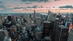 Building City Cityscape New York Skyscraper Usa 2048x1208 Wallpaper