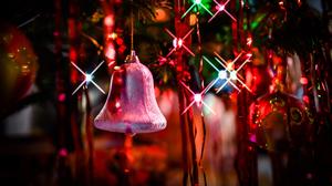 Winter Christmas Lights Holiday Christmas Ornaments 1920x1080 Wallpaper