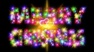 Christmas Colorful Colors Merry Christmas 1920x1280 Wallpaper