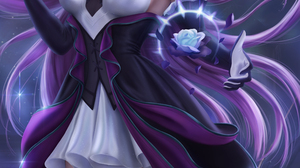 Syndra League Of Legends League Of Legends Video Games Video Game Girls Video Game Characters Portra 3900x6500 wallpaper