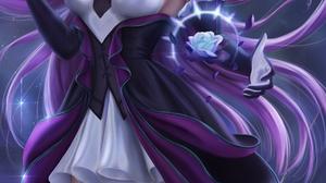 Syndra League Of Legends League Of Legends Video Games Video Game Girls Video Game Characters Portra 3900x6500 Wallpaper