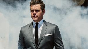 Actor American Matt Damon Smoke Suit 2700x1688 Wallpaper
