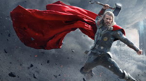 Thor Chris Hemsworth Mjolnir Superhero 10866x5433 Wallpaper