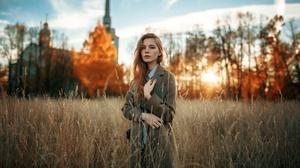 Sunset Long Hair Depth Of Field Blonde 2000x1125 Wallpaper