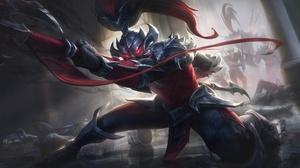 Xin Zhao League Of Legends 4000x2250 wallpaper