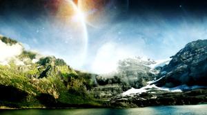Sci Fi Landscape 1920x1200 Wallpaper
