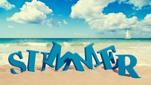 Beach Ocean Summer 3840x2160 wallpaper