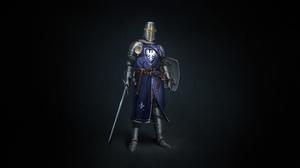 Armor Sword Warrior 2800x1400 Wallpaper
