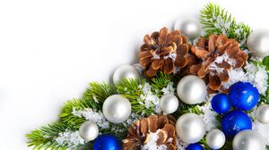 Christmas Christmas Ornaments 8022x5852 Wallpaper