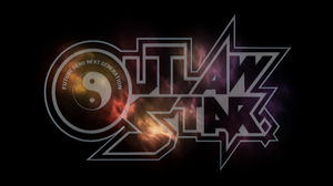 Outlaw Star Typography Space Anime Simple Background Black Background 7680x4320 Wallpaper