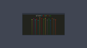 Simple Background Minimalism Terminals Optimism RGB 1920x1080 Wallpaper
