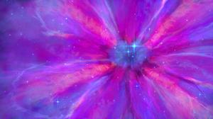 JoeyJazz Space Art Supernova Flowers Pink 3840x2160 Wallpaper