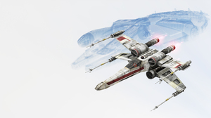 Millennium Falcon Star Wars Battlefront 2015 X Wing 6400x3600 wallpaper