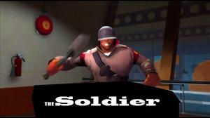 Soldier Team Fortress 1280x1024 Wallpaper