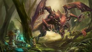 Beast Cho 039 Gath League Of Legends Ezreal League Of Legends League Of Legends Riven League Of Lege 1600x912 Wallpaper