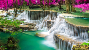Nature Waterfall 5000x3334 Wallpaper