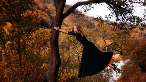 Dress Black Dress High Heels Floating Levitating 3170x2007 Wallpaper
